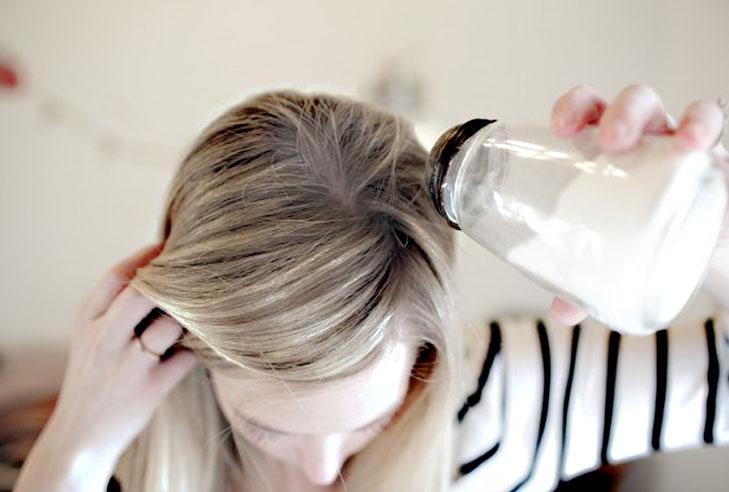 cheveux et bicarbonate de soude